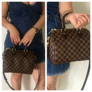 Authentic Louis Vuitton Bandouliere 25